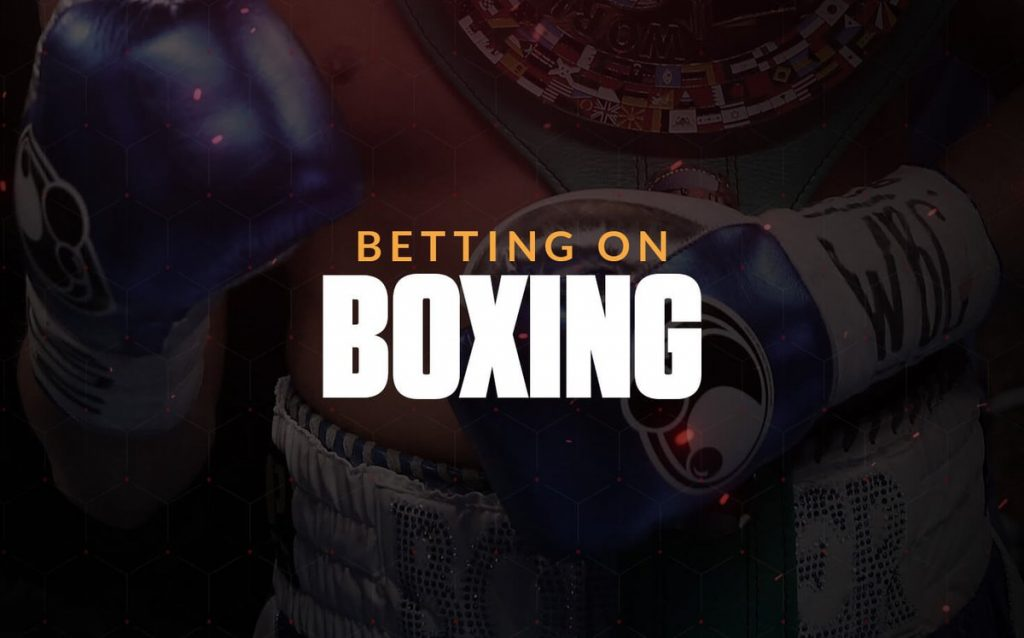 Boxing: types of bets